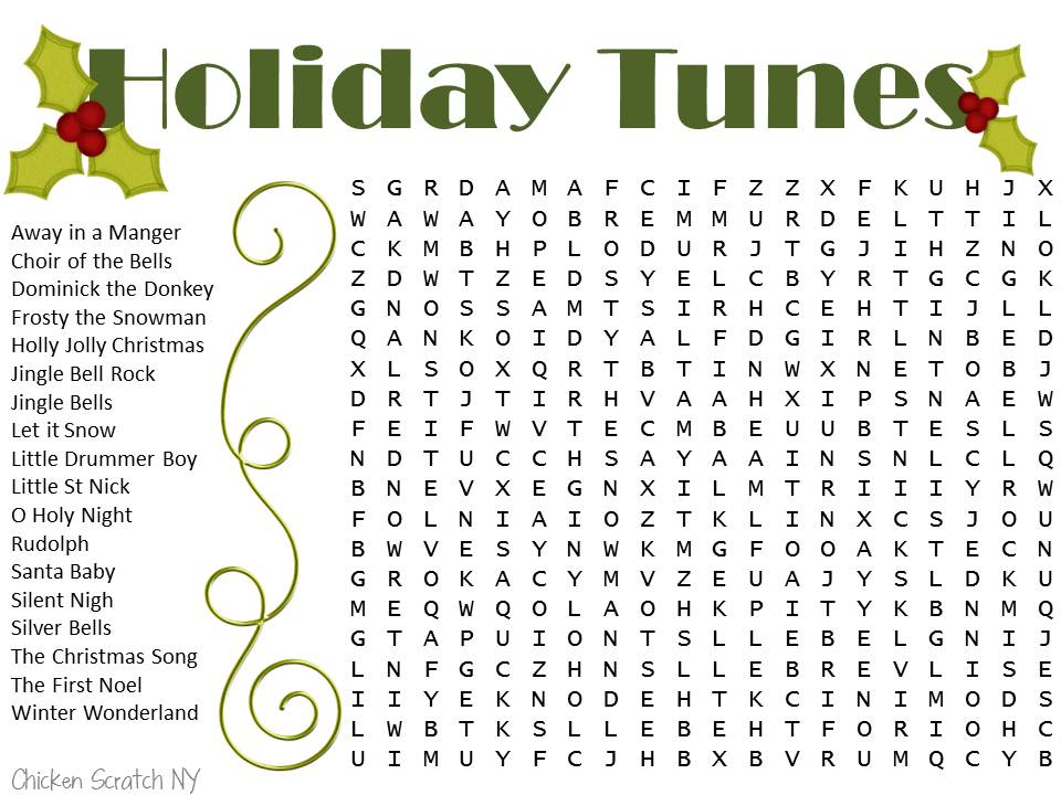 holiday-tune-word-search